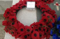 Prince William's Wreath at the Arromanches Ceremony – Normandy & D-Day Landings 70th Anniversary Ceremony & Battlefield Tour