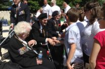 WW2 Veterans at the Bayeux War Ceremony – Normandy & D-Day Landings 70th Anniversary Ceremony & Battlefield Tour