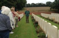From our group there were two personal visits at Heilly Station Cemetery – Somme Battlefield Tour