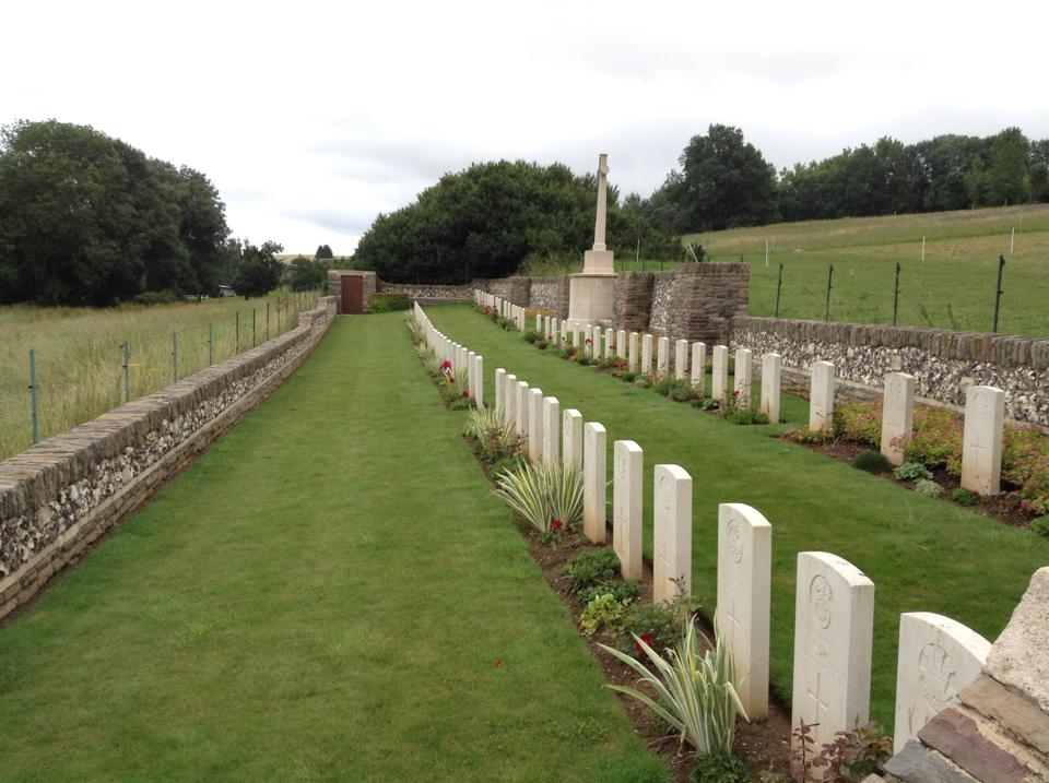07 Morlancourt British Cemetery No 1