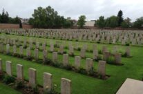 The cemetery at the Arras Memorial contains over 2,650 Commonwealth burials of the First World War – Somme Battlefield Tour
