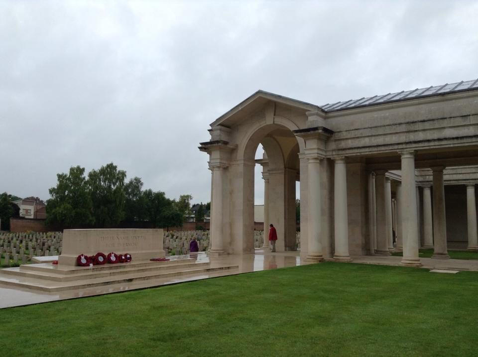 18 The Arras Memorial