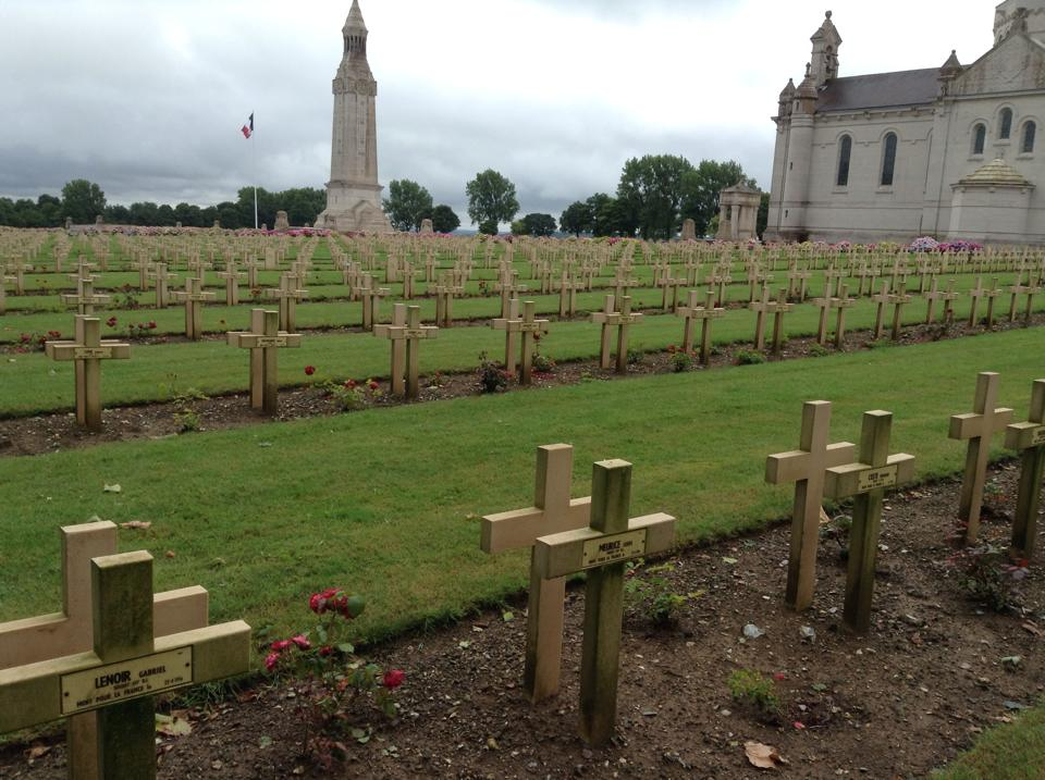 28 Notre Dame de Lorette, the world's largest French Cemetery