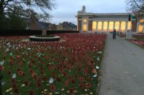 The eve of Armistice Day at the Menin Gate, Ypres – Armistice Remembrance Tour
