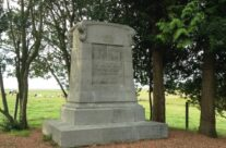Oldest monument on the battlefield to the Belgian soldiers who fought at Quatre Bras and Waterloo – Waterloo Battlefield Tour