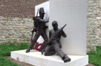 New memorial to British Soldiers of Waterloo at Hougoumont – Waterloo Battlefield Tour