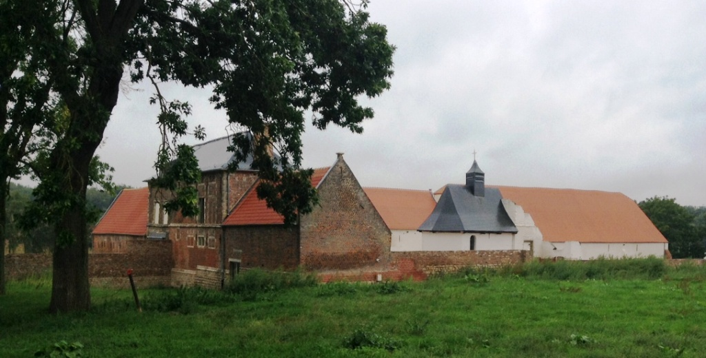 11 The grounds of Hougoumont Chateau