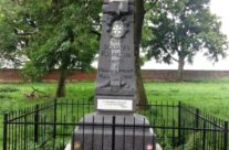 French monument in the grounds of Hougoumont – Waterloo Battlefield Tour