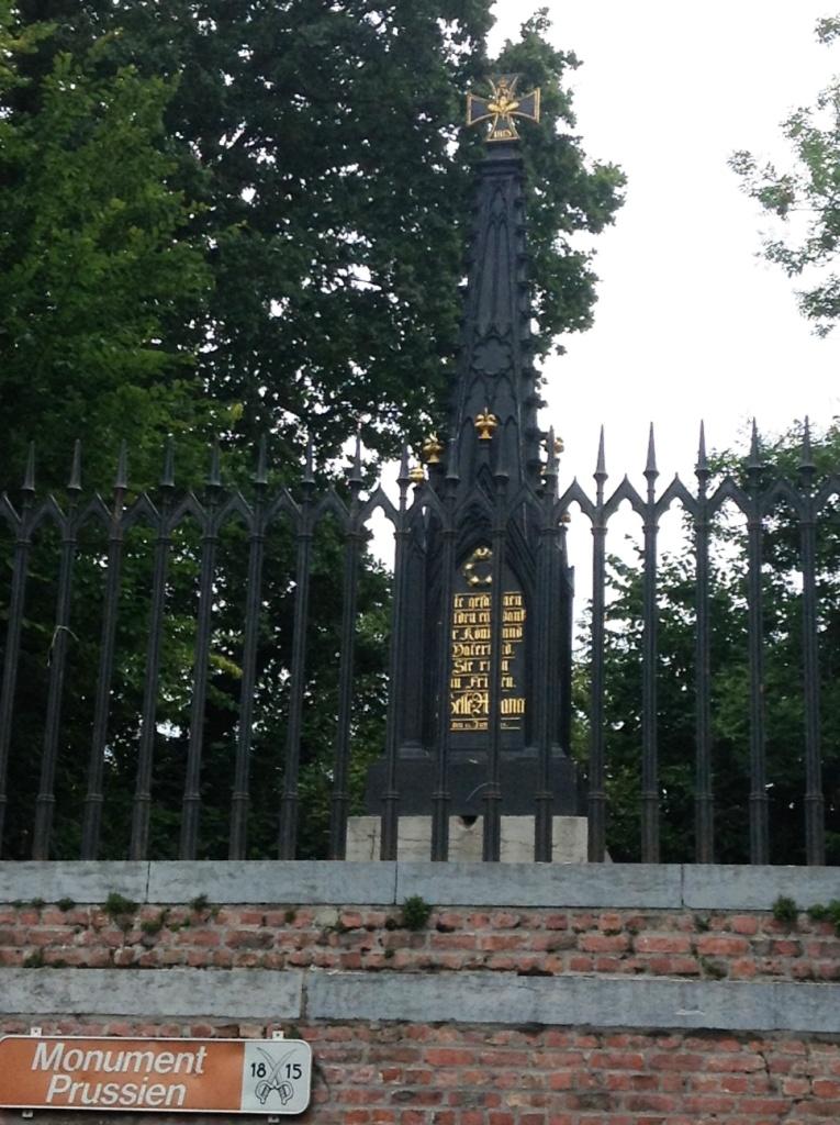 19 Prussian Memorial, Plancenoit