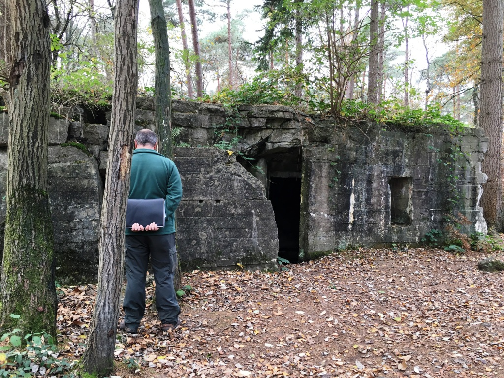 20 Scott Post, German Command Post in Polygon Wood