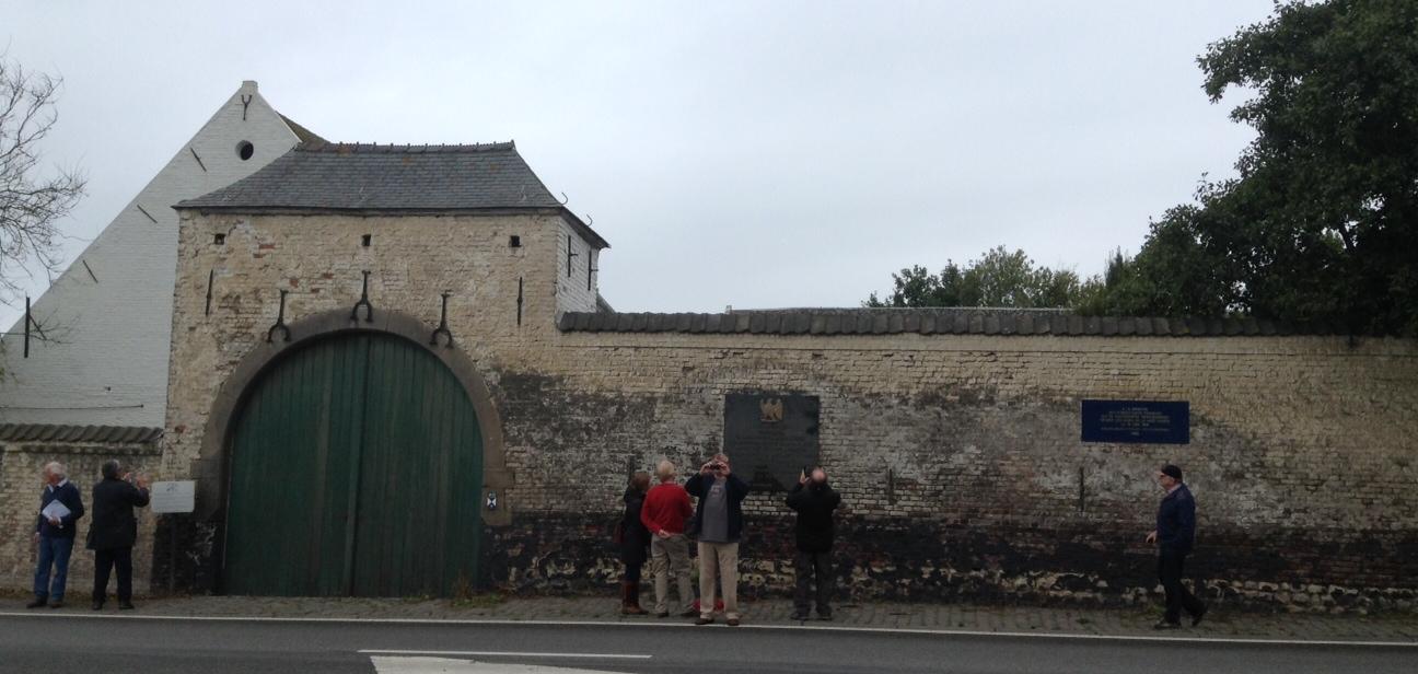 21 The Farmhouse of La Haye Sainte
