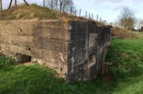 WW1 reinforced concrete German Command Post bunker at Zandvoorde – Armistice Remembrance Tour