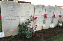 Comrades in Brandhoek New Military Cemetery – Armistice Remembrance Tour