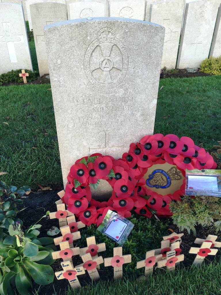 29 Nurse Nellie Spindler's Grave in Lijssenthoek Military Cemetery