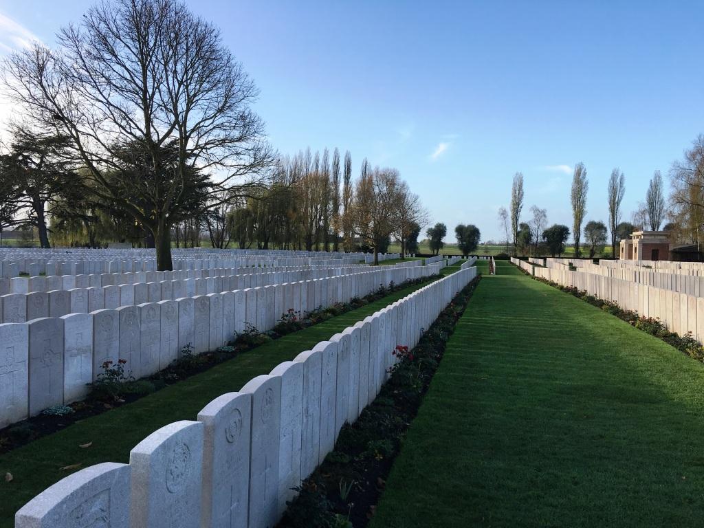 30 Lijssenthoek Military Cemetery