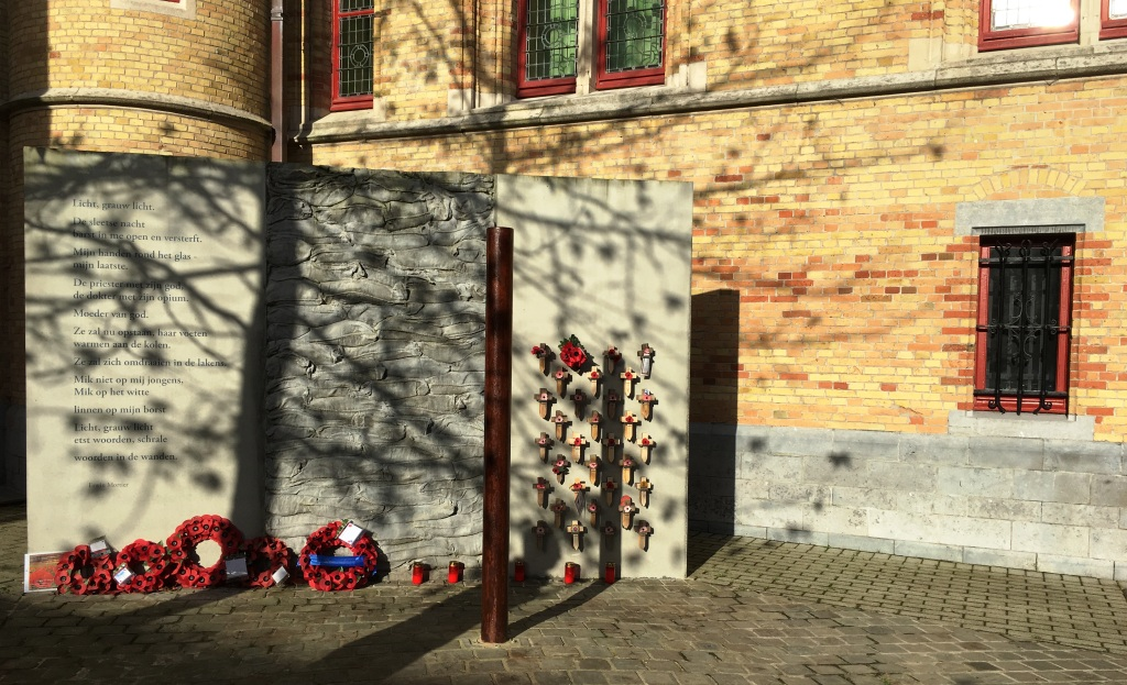 31 Death Cells and execution post at Poperinge