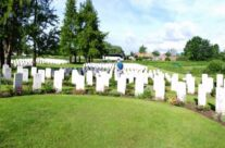 The Dunkirk plot at Bedford House Cemetery, near Ypres – Dunkirk 'Operation Dynamo' Battlefield Tour