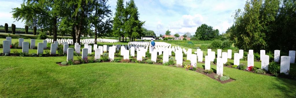 01 The Dunkirk plot at Bedford House Cemetery, near Ypres