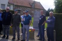 The group at Le Paradis massacre site – Dunkirk 'Operation Dynamo' Battlefield Tour
