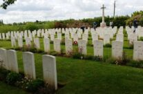 Le Paradis Cemetery; the resting place of the massacred Norfolks – Dunkirk 'Operation Dynamo' Battlefield Tour