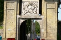 The Cassel Gate at Bergues; blocked by the Allies with a bulldozer – Dunkirk Operation Dynamo Battlefield Tour