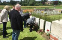 A personal visit to a relative's grave at Fricourt British Cemetery – 100th Anniversary of the Somme Battlefield Tour