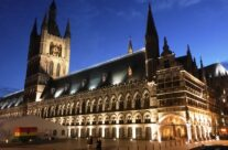 The Cloth Hall in the Grote Markt, Ypres – 100th Anniversary of the Somme Battlefield Tour