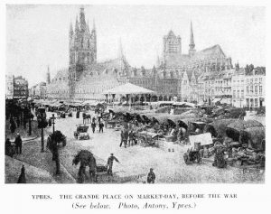 History 1st Ypres market before the war