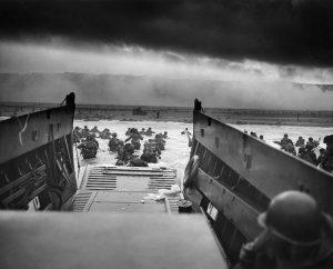 History D-Day Omaha Beach landing