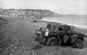 History Dieppe chert beach