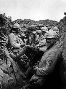 History Verdun trench