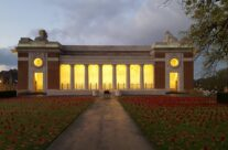 South Loggia of the Menin Gate, Ypres and the Royal British Legion Remembrance Poppies for Armistice – 2016 Armistice Day in Ypres and Battlefield Tour