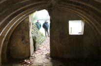View from inside one of the bunkers at the Lettenberg Bunkers, Ypres Salient – 2016 Armistice Day in Ypres and Battlefield Tour
