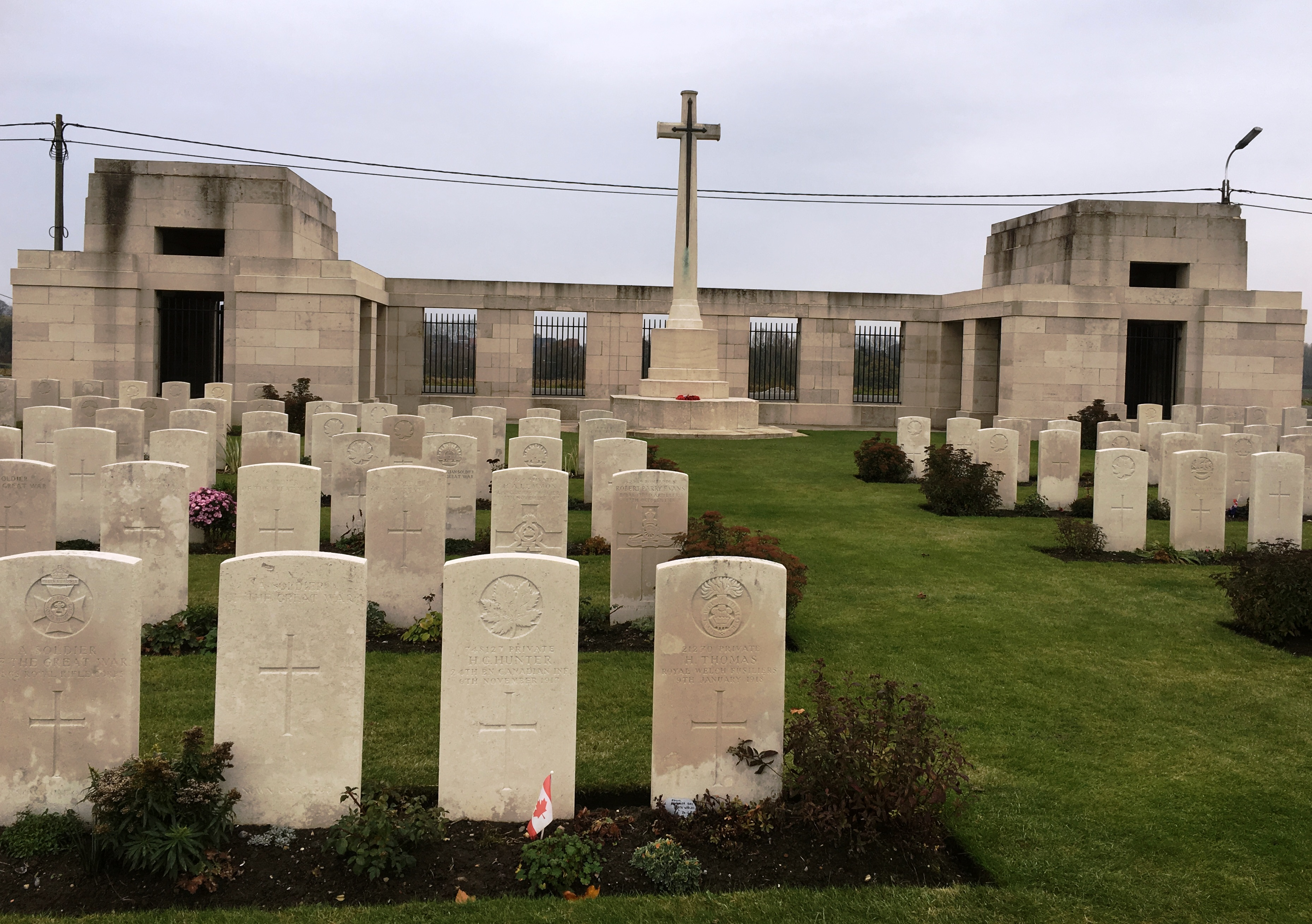 27-passchendaele-new-british-cemetery-ypres-salient-next-to-tyne-cot-cemetery-it-has-the-largest-concentration-of-canadian-dead
