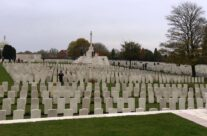 A view over Tyne Cot Cemetery, Ypres Salient – 2016 Armistice Day in Ypres and Battlefield Tour