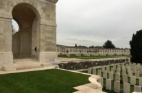View of Tyne Cot Cemetery and the Wall of Remembrance, Ypres Salient – 2016 Armistice Day in Ypres and Battlefield Tour