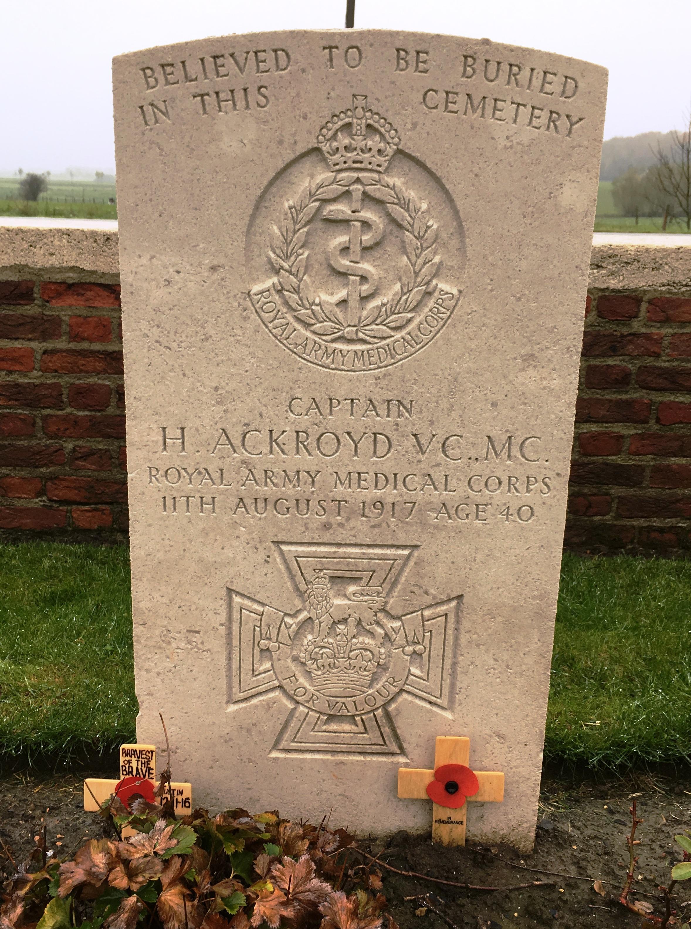 37-capt-harold-ackroyd-at-birr-cross-cemetery-ypres-salient