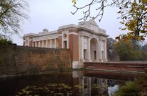 The Menin Gate, Ypres, and its causeway – 2016 Armistice Day in Ypres and Battlefield Tour