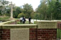 Entrance to Devonshire Trench – Somme and Ypres Battlefield Tour