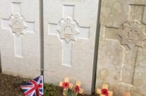War Poet Noel Hodgson's Grave, Devonshire Trench Cemetery – Somme and Ypres Battlefield Tour