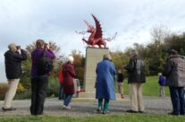 The 38th Division Welsh Dragon Memorial at Mametz Wood – Somme and Ypres Battlefield Tour