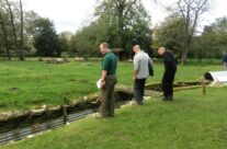 The trenches at Ocean Villas Tea Rooms – Somme and Ypres Battlefield Tour