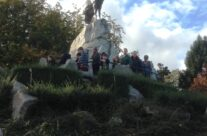 The Caribou at Newfoundland Memorial Park – Somme and Ypres Battlefield Tour
