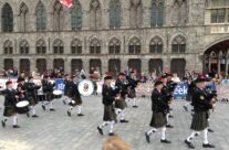 The Cloth Hall, The Cat Festival, Ypres