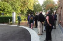 Outside the Gheluvelt Chateau, Ypres – Somme and Ypres Battlefield Tour