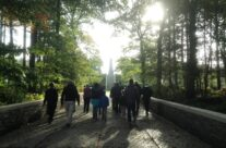Entering Buttes New British Cemetery, Polygon Wood – Somme and Ypres Battlefield Tour