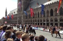 The Parade, The Cat Festival, Ypres