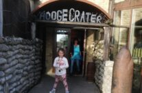At Hooge Crater Cafe and Museum for lunch – Somme and Ypres Battlefield Tour