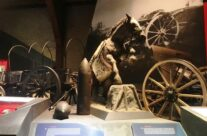 Display at the In Flanders Field Museum, The Cloth Hall, Ypres – Messines Discovery Battlefield Tour