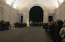 The Last Post Ceremony in the Hall of Memory at the Menin Gate, Ypres – Messines Discovery Battlefield Tour